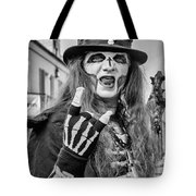 Bourbon Street Denizon Bw Tote Bag