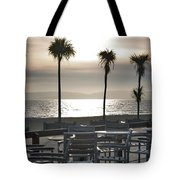 Bournemouth Beach In December Tote Bag