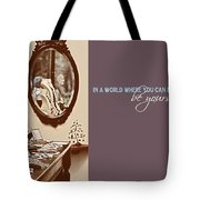 Boutique Quote Tote Bag by JAMART Photography