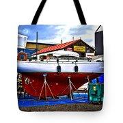 Bouyant Girl Tote Bag