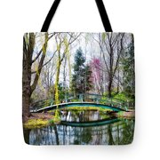 Bow Bridge - Grounds For Schulpture Tote Bag
