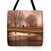 Bow Bridge Panorama Tote Bag