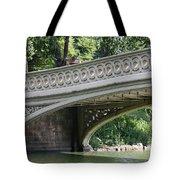 Bow Bridge Texture - Nyc Tote Bag