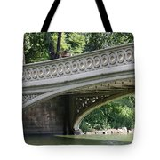 Bow Bridge Texture - Nyc Tote Bag