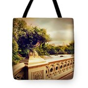 Bow Bridge View Tote Bag