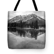 Bow River Banff Alberta Tote Bag