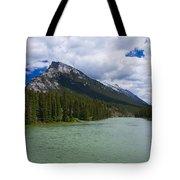 Bow River - Banff Tote Bag