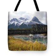 Bow River Railroad Trestle Tote Bag
