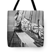 Bow Sprit In Bnw Tote Bag