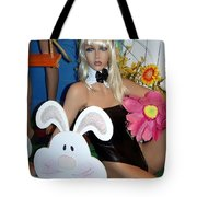 Bow Tie Blonde Tote Bag