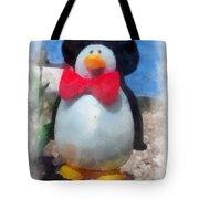Bow Tie Penguin Photo Art Tote Bag