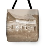 Bowed And Lonely Barn Tote Bag