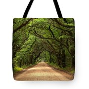 Bowing Oak Trees Tote Bag