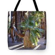 Bowing Palm Tote Bag