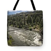 Bowl And Pitcher Area - Riverside State Park - Spokane Washington Tote Bag