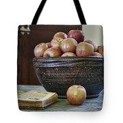 Bowl Of Apples Tote Bag