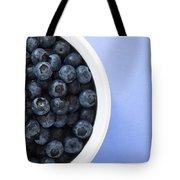 Bowl Of Blueberries Tote Bag by Steven Raniszewski