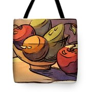 Bowl Of Fruit 8 Tote Bag