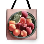 Bowl Of Fruit Tote Bag by Tomar Levine