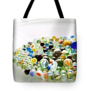 Bowl Of Marbles Tote Bag