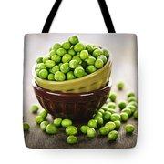 Bowl Of Peas Tote Bag