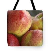 Bowl Of Royal Gala Apples Tote Bag