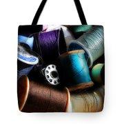 Bowl Of Thread Tote Bag