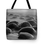 Bowling Ball Beach Bw Tote Bag