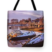 Bowling Harbour 03 Tote Bag