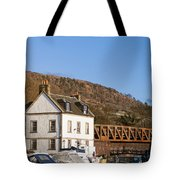 Bowling Harbour House Tote Bag