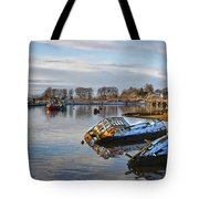Bowling Harbour Panorama 01 Tote Bag