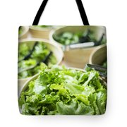 Bowls Of Salad Keaves Tote Bag