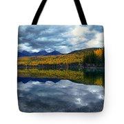 Bowman Lake Quietude Tote Bag