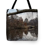 Bows And Arches - New York City Central Park Tote Bag