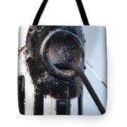 Bow's Line Tote Bag by Christine Burdine