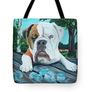 Bowser On Ice Tote Bag