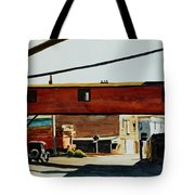 Box Factory Tote Bag by Edward Hopper