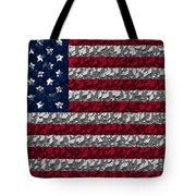 Boxed Flag Tote Bag