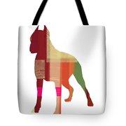 Boxer 2 Tote Bag by Naxart Studio
