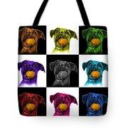 Boxer Mix Dog Art - 8173 - V1 - M Tote Bag