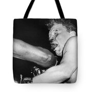 Boxer Near His Limit Tote Bag