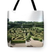 Boxwood Garden Design - Chateau Villandry Tote Bag