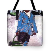 Boy Carrying Coal Circa 1901 Tote Bag