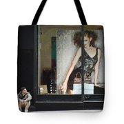 Boy Meets Girl Tote Bag