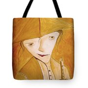 Boy With Flute 413-08-13 Marucii Tote Bag