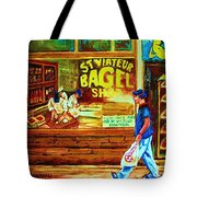 Boy With The Steinbergs Bag Tote Bag