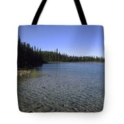 Boya Lake Tote Bag