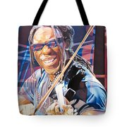Boyd Tinsley And 2007 Lights Tote Bag by Joshua Morton