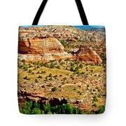 Boynton Overlook On Highway 12 In Grand Staircase-escalante National Monument-utah Tote Bag