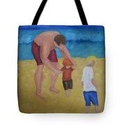 Paul, Brady Gavin At The Beach Tote Bag